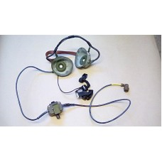 CLANSMAN LARKSPUR HEADSET THROAT MIC AND PTT ASSY WITH VOLUMN CONTROL